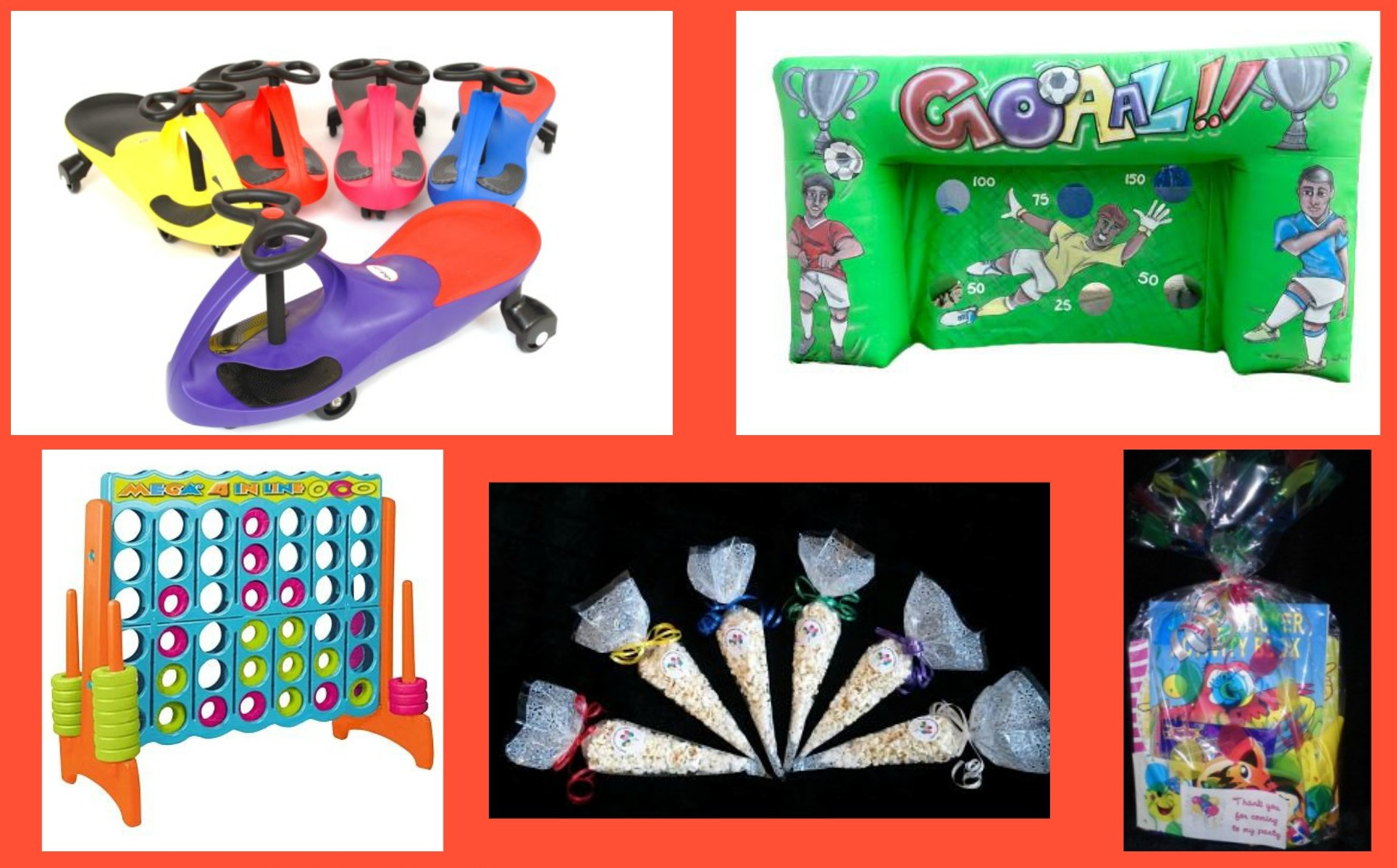 Over 5's Complete Party Package
