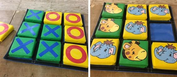 Giant Soft Play Noughts & Crosses