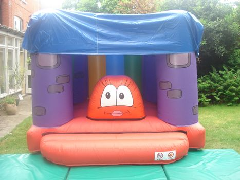 Bessie the Bouncy Castle with Raincover